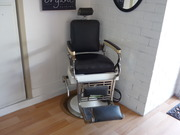 Antiques hairdressing  barber chair