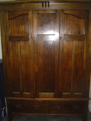 Antique Oak Wardrobe. Elegant,  Classic.
