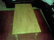 LARGE PINE COFFE TABLE