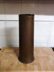 Rare 4.7 inch shell casing from Fort Queenscliffe pre WW1