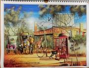 Max Mannix Calendar Art – Reusable