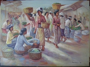Cheap Indonesian oil painting,  art,  art painting for sale,  many themes