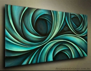 Abstract Digital Canvas Oil Paintings