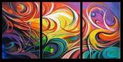 Abstract Digital Canvas Art Australia