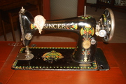 Antique Singer Sewing Machine....